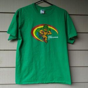 Hawaii Vintage Logo Rainbow Warriors Large Green